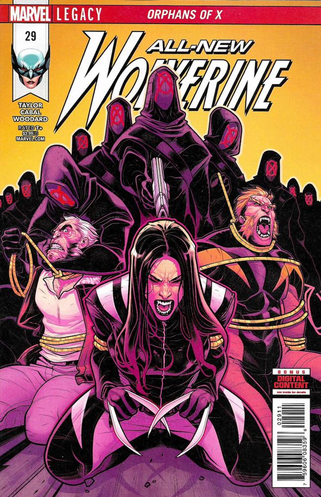Couverture de All-New Wolverine (2016) -29- Orphans Of X Part 5