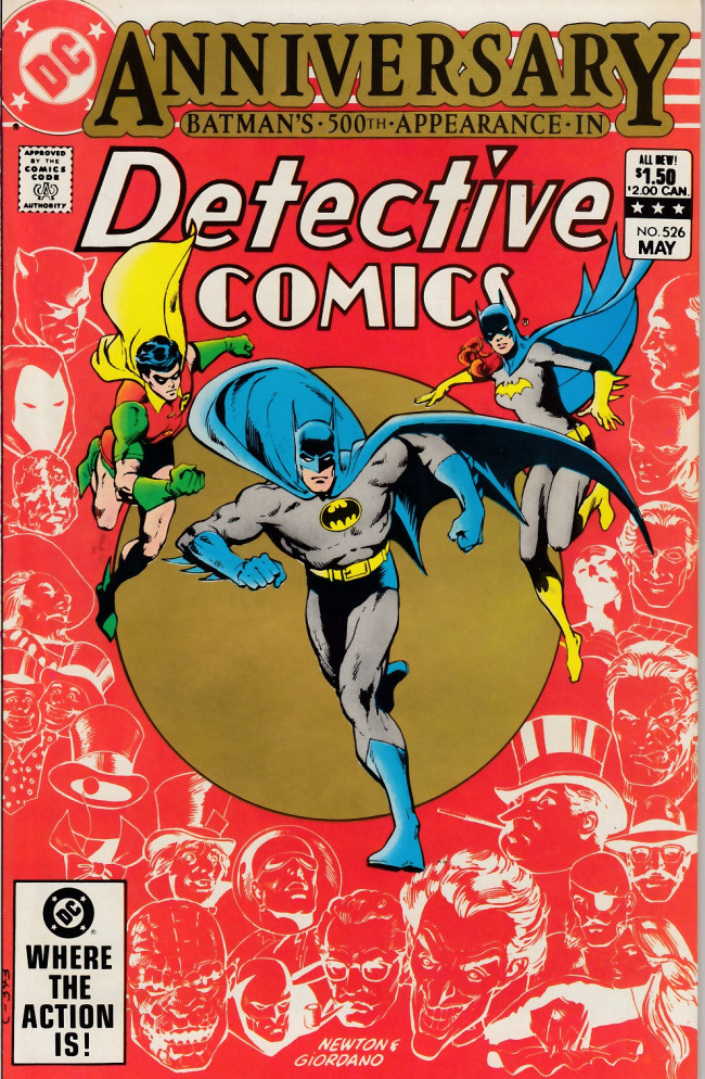 Couverture de Detective Comics (1937) -526- All my enemies against me