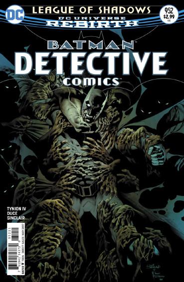 Couverture de Detective Comics (1937) -952- league of Shadows - Part 2 : The five fingers of Death