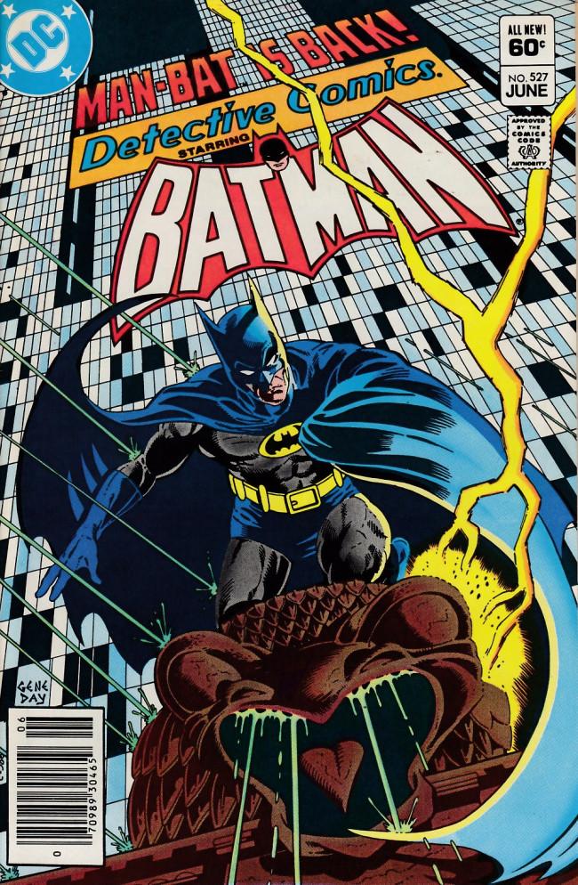 Couverture de Detective Comics (1937) -527- Avatar of vengeance