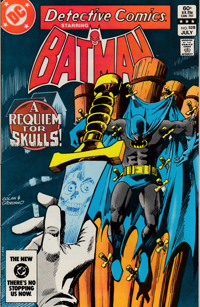 Couverture de Detective Comics (1937) -528- Requiem for skulls