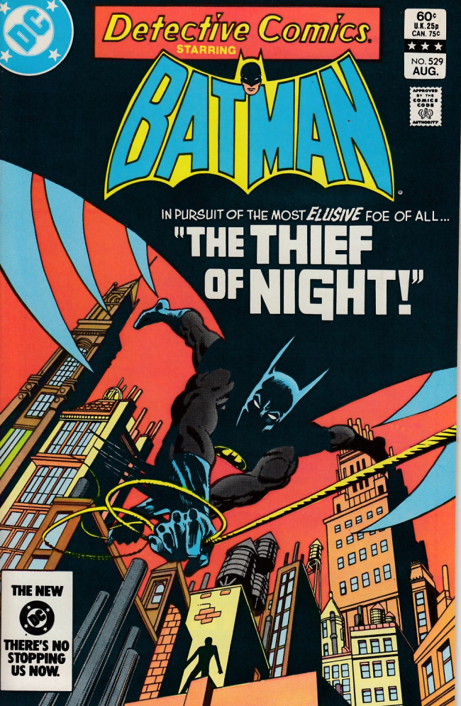 Couverture de Detective Comics (1937) -529- The thief of night