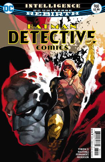 Couverture de Detective Comics (1937), période Rebirth (2016) -960- Intelligence - Part 3 : Short circuit