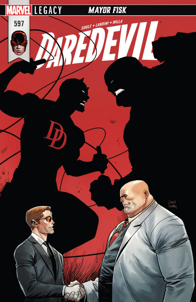 Couverture de Daredevil (1964) -597- Mayor Fisk - Part 3