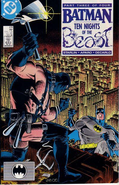 Couverture de Batman (1940) -419- Ten Nights of the Beast! - PartIII