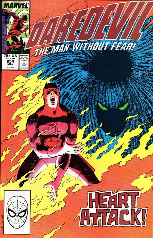 Couverture de Daredevil (1964) -254- Typhoid