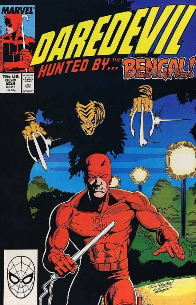 Couverture de Daredevil Vol. 1 (Marvel - 1964) -258- I Heard the Jungle Breathe