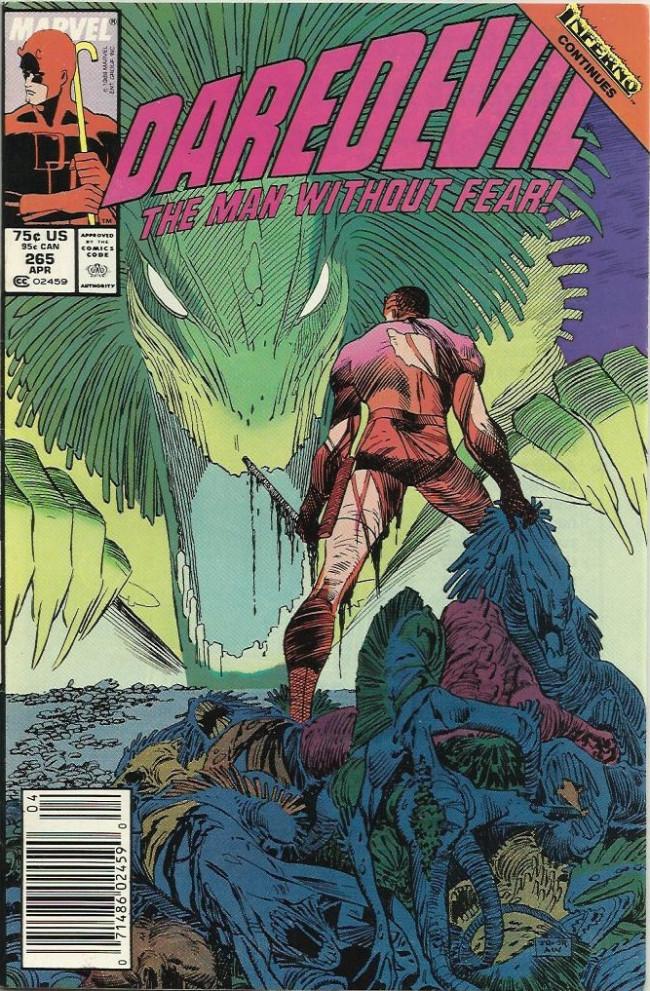 Couverture de Daredevil Vol. 1 (Marvel - 1964) -265- We Again Beheld the Stars