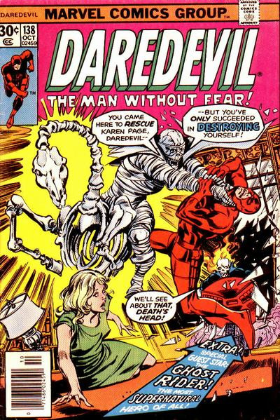 Couverture de Daredevil (1964) -138- Where is Karen Page?