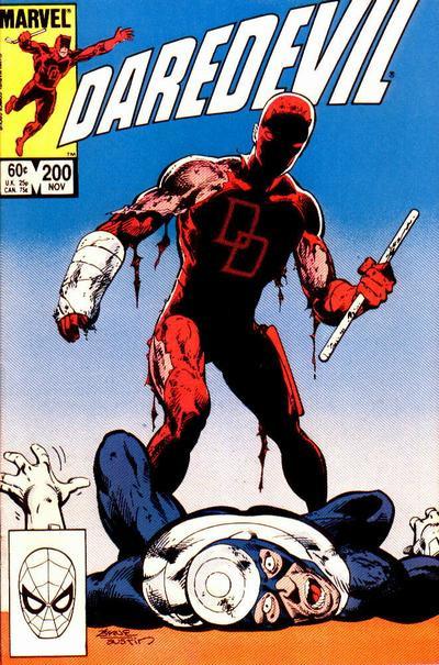 Couverture de Daredevil Vol. 1 (Marvel - 1964) -200- Redemption