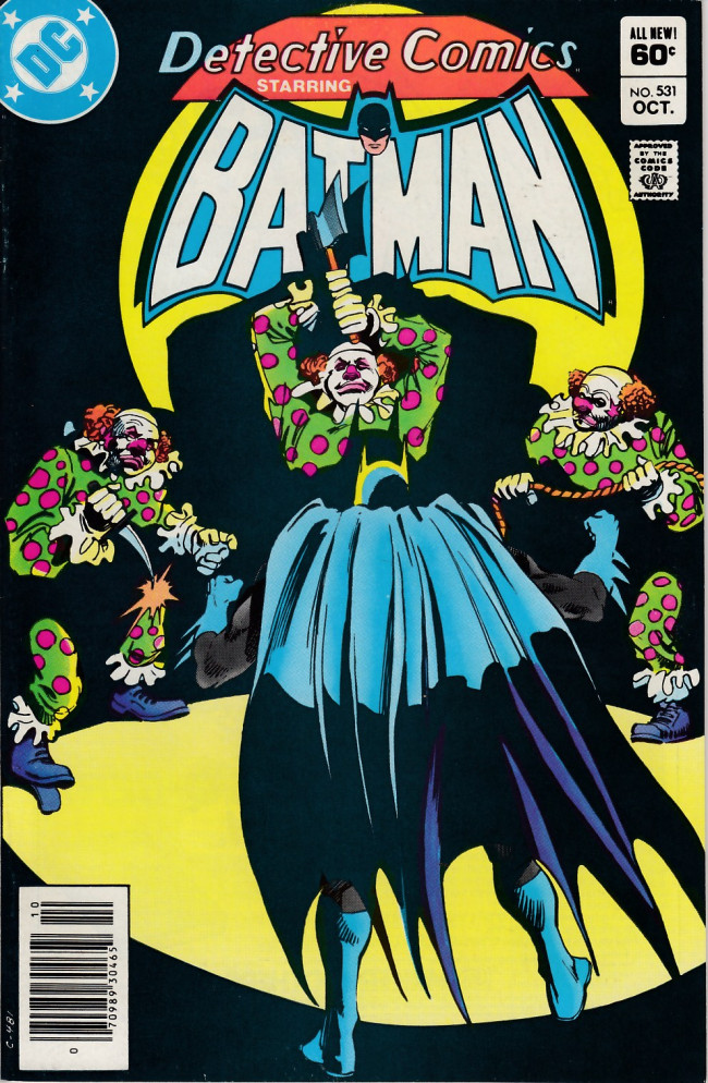 Couverture de Detective Comics (1937) -531- The face of the chimera