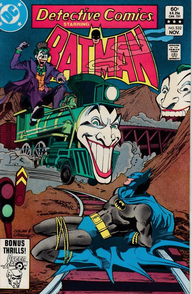 Couverture de Detective Comics (1937) -532- Laugh, killer, laugh!