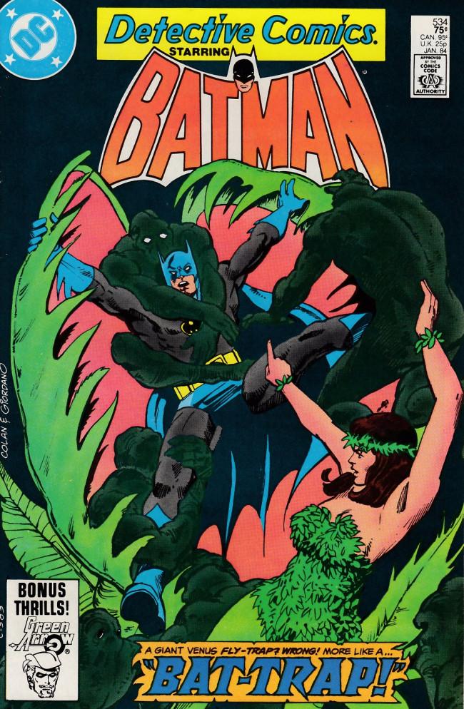 Couverture de Detective Comics (1937) -534- Brambles