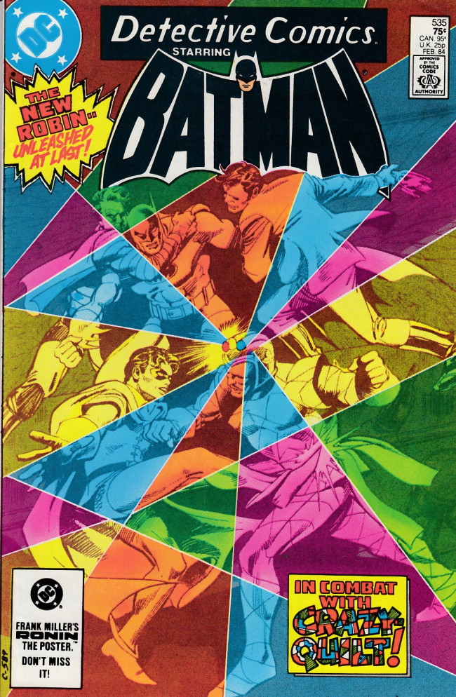 Couverture de Detective Comics (1937) -535- One hole in a quilt of madness