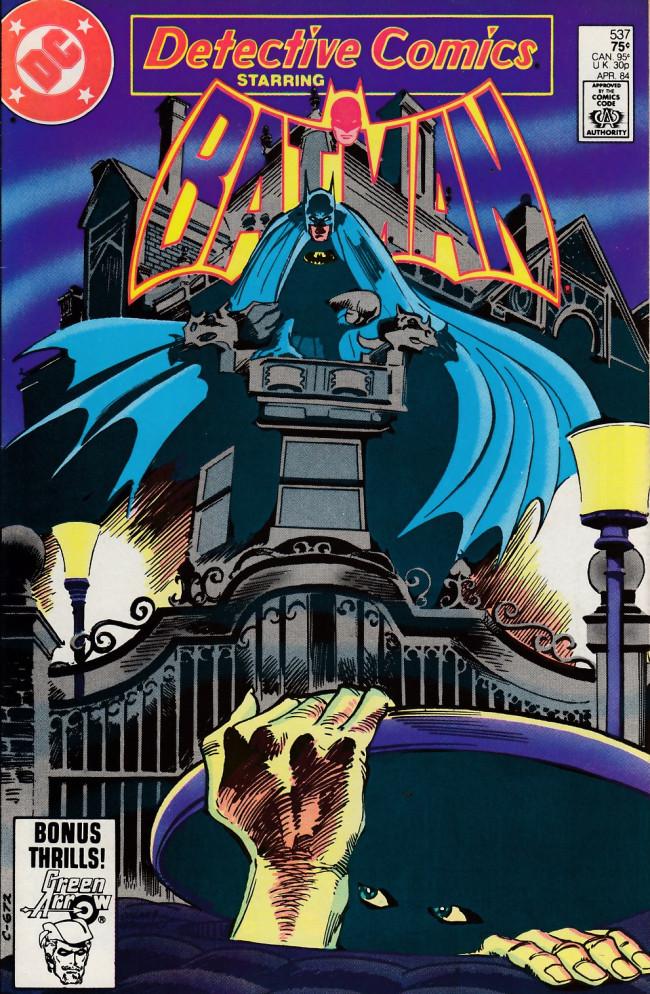 Couverture de Detective Comics Vol 1 (1937) -537- Down below