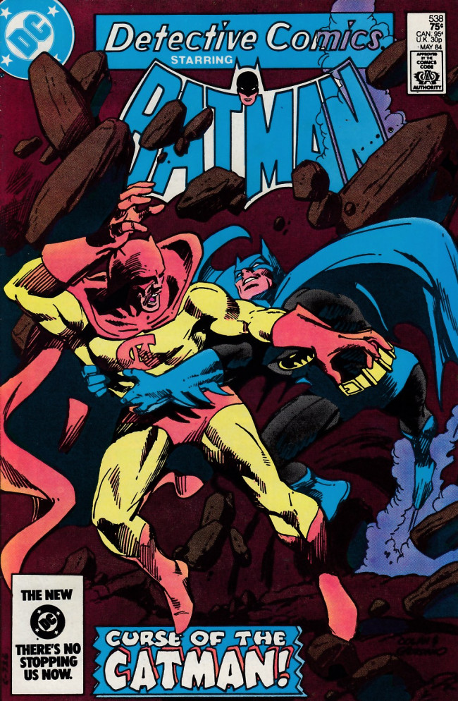 Couverture de Detective Comics (1937) -538- Clothes makes the cat(man)