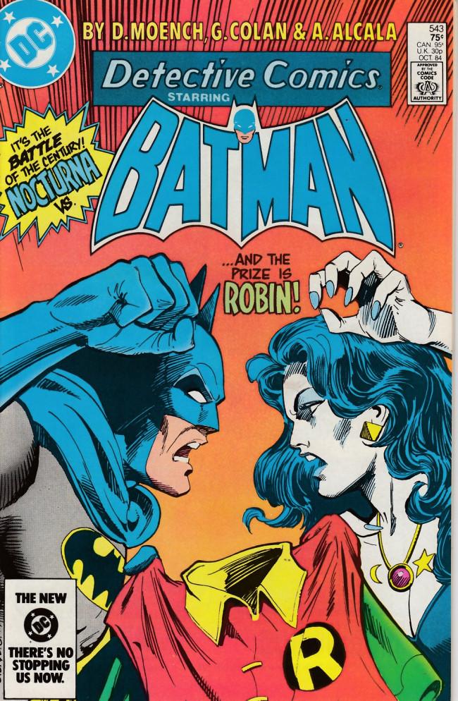 Couverture de Detective Comics (1937) -543- Shadows of vengeance