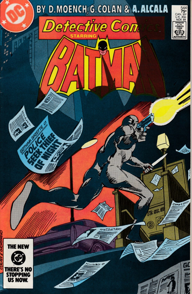 Couverture de Detective Comics (1937) -544- deceit in dark secrets