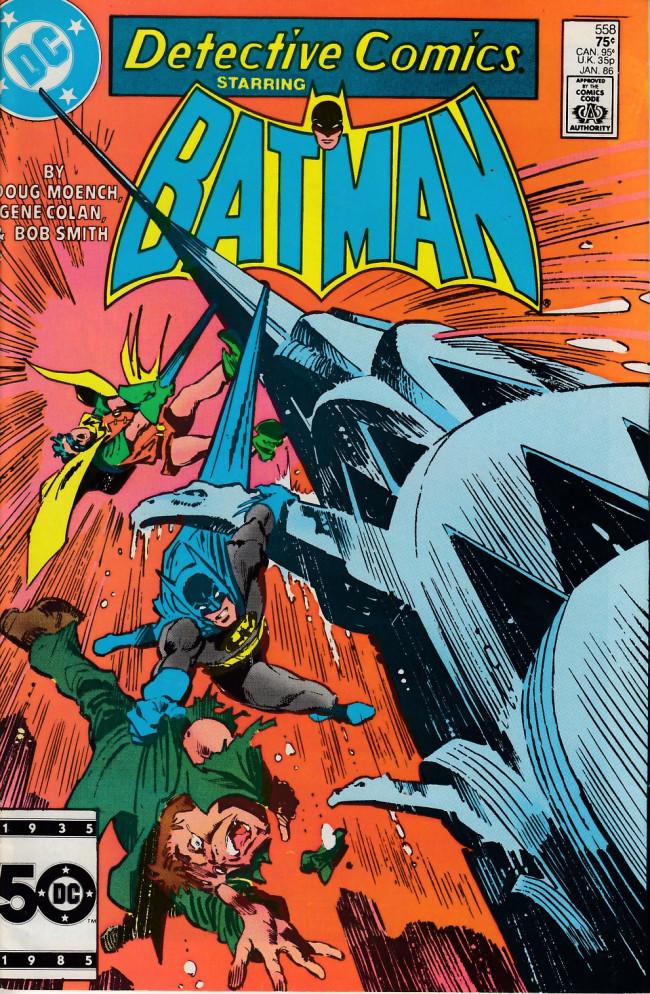 Couverture de Detective Comics (1937) -558- Strange loves