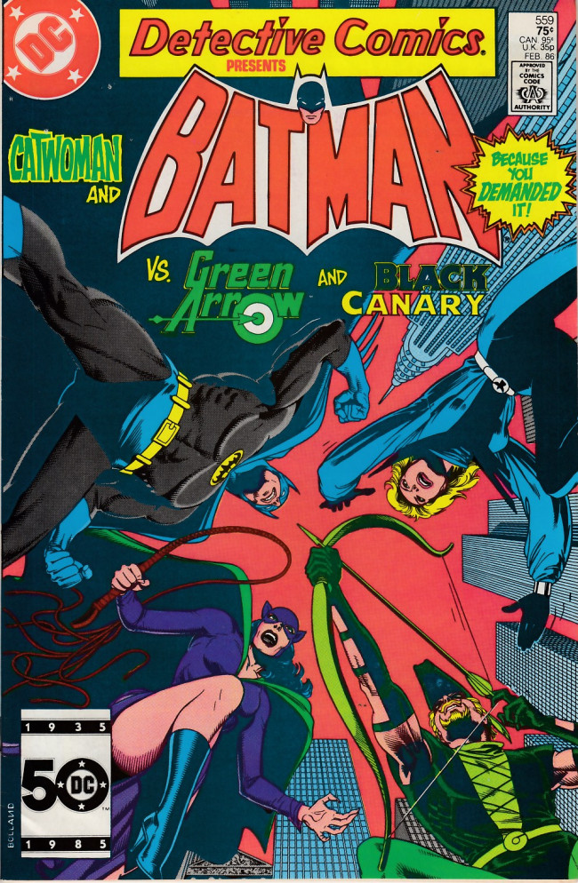 Couverture de Detective Comics (1937) -559- To fly
