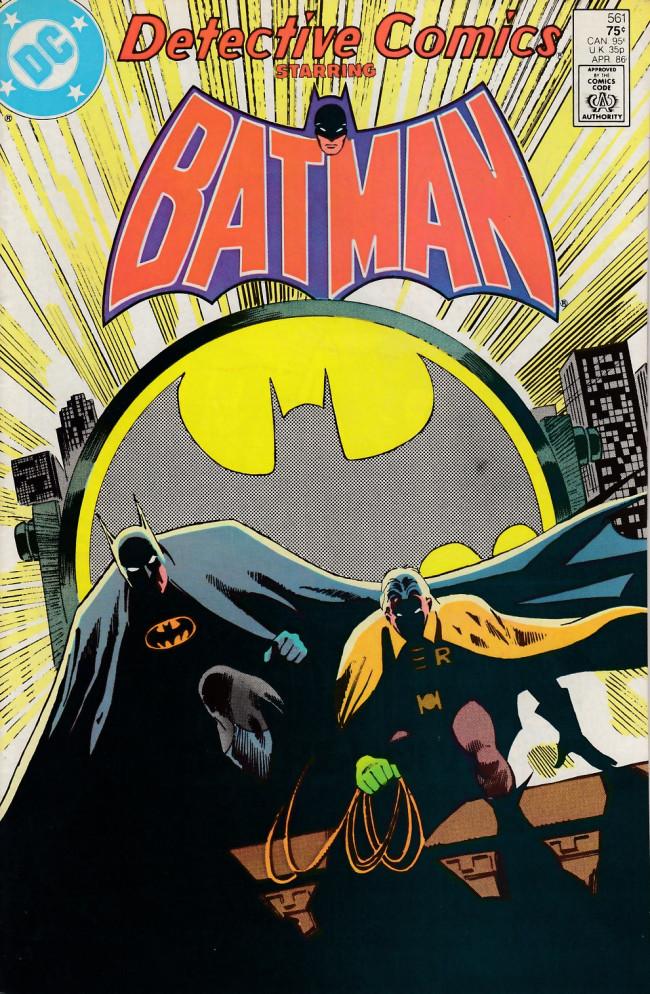 Couverture de Detective Comics (1937) -561- Flying hi