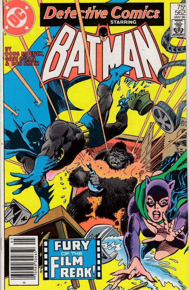 Couverture de Detective Comics (1937) -562- Reeling