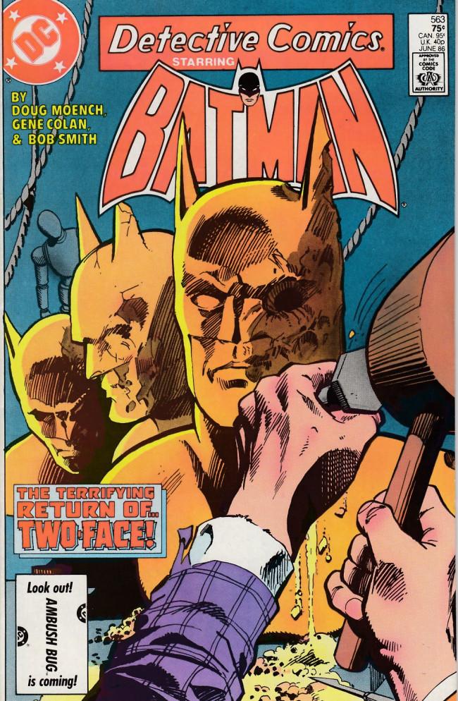 Couverture de Detective Comics (1937) -563- Free faces