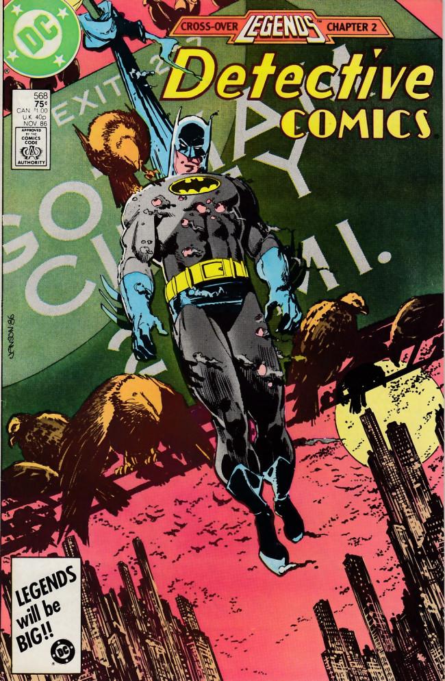 Couverture de Detective Comics (1937) -568- Eyre