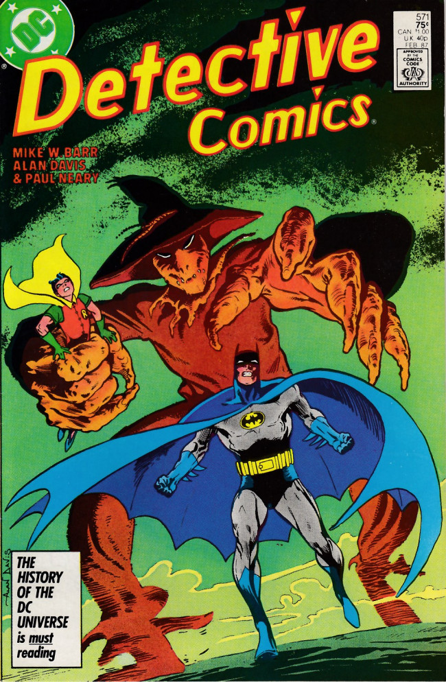 Couverture de Detective Comics (1937) -571- Fear for sale