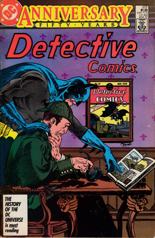 Couverture de Detective Comics Vol 1 (1937) -572- The doomsday book