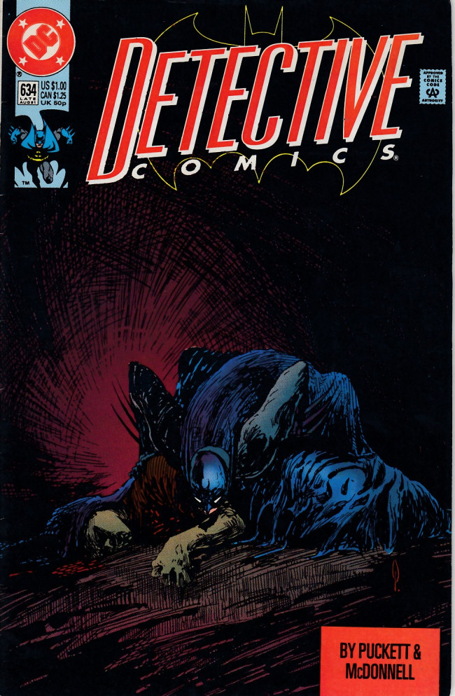 Couverture de Detective Comics (1937) -634- The third man