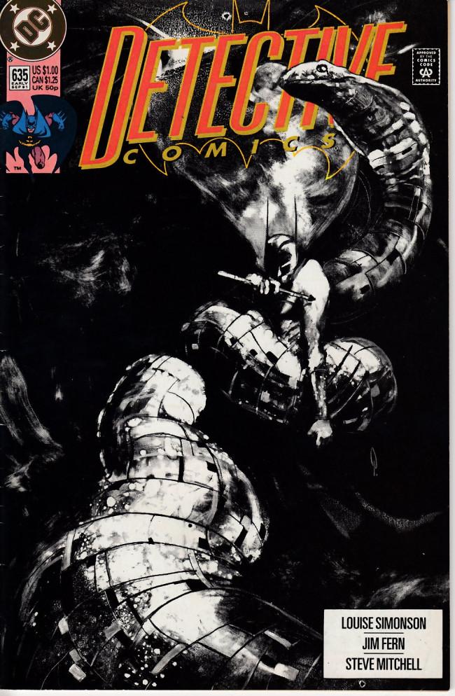 Couverture de Detective Comics (1937) -635- Mind games