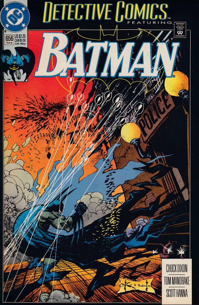 Couverture de Detective Comics Vol 1 (1937) -656- Besieged