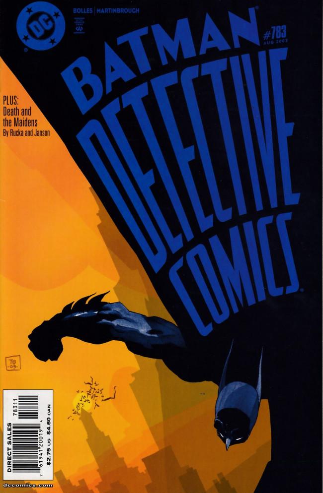 Couverture de Detective Comics (1937) -783- More perfect than perfect