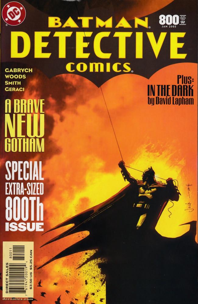 Couverture de Detective Comics (1937) -800- Alone at night