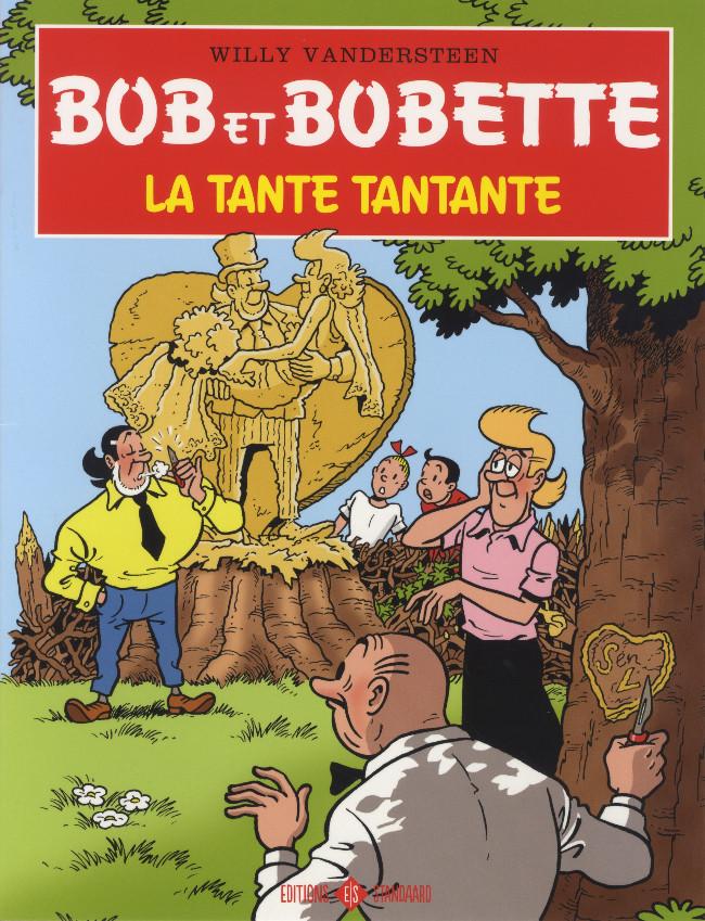 Couverture de Bob et Bobette (Publicitaire) -Look1- La tante tantante