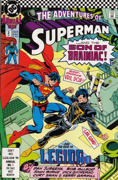 Couverture de Superman (The Adventures of) (1987) - Tome AN02