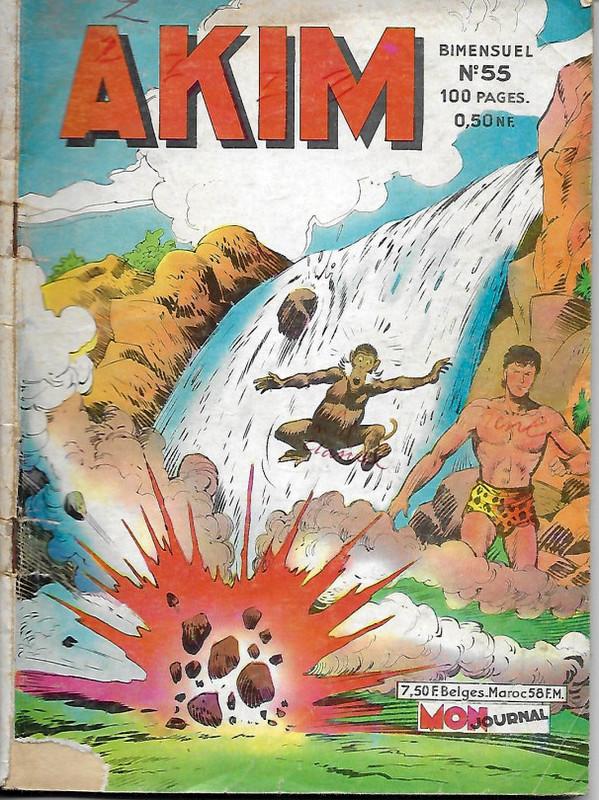 Couverture de Akim (1re série) -55- l'entreprise héroïque