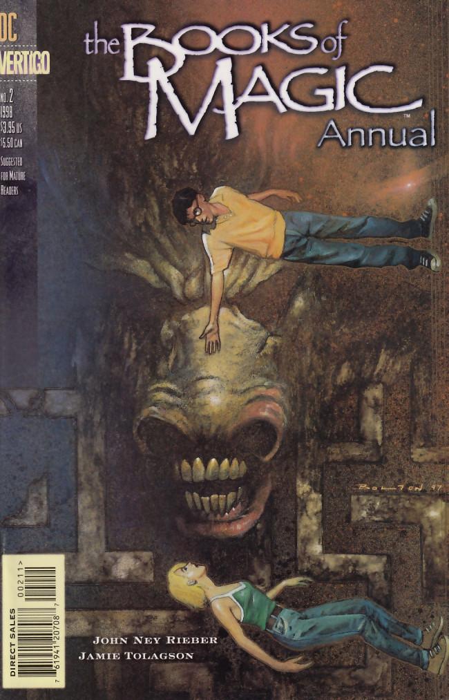 Couverture de Books of Magic (The) (1994) -AN02- Horn