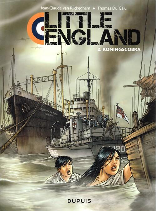 Couverture de Little England (en néerlandais) -2- Koningscobra
