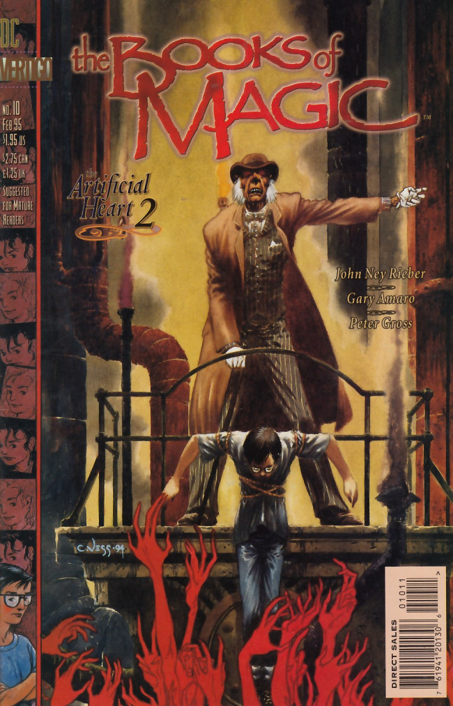 Couverture de Books of Magic (The) (1994) -10- The artificial heart: book 2 - Bleak houses, hard times