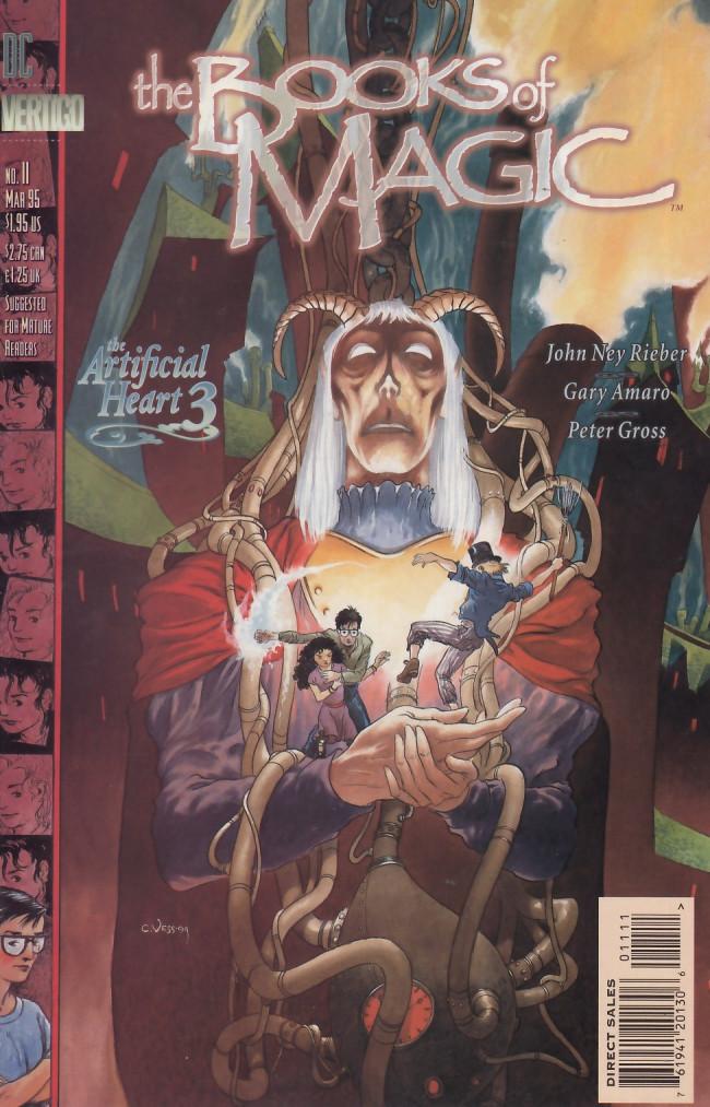Couverture de Books of Magic (The) (1994) -11- The artificial heart: Book 3 - The climbing boy