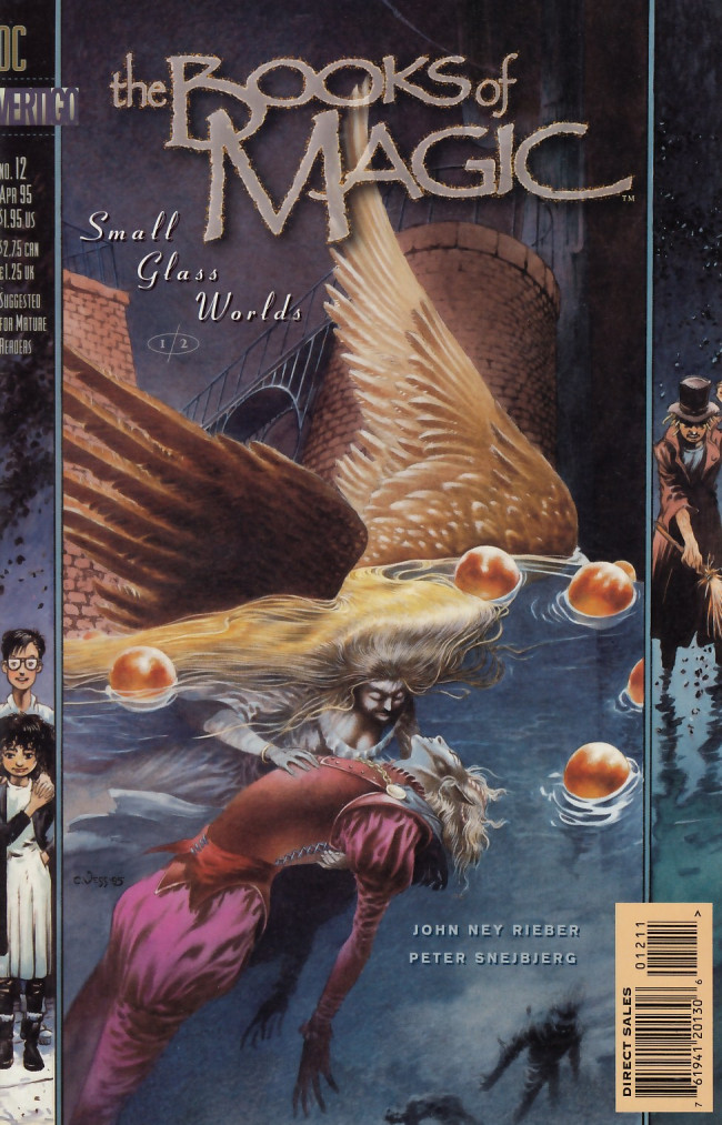 Couverture de Books of Magic (The) (1994) -12- Small glass wolrlds: Part 1 - Missing colors