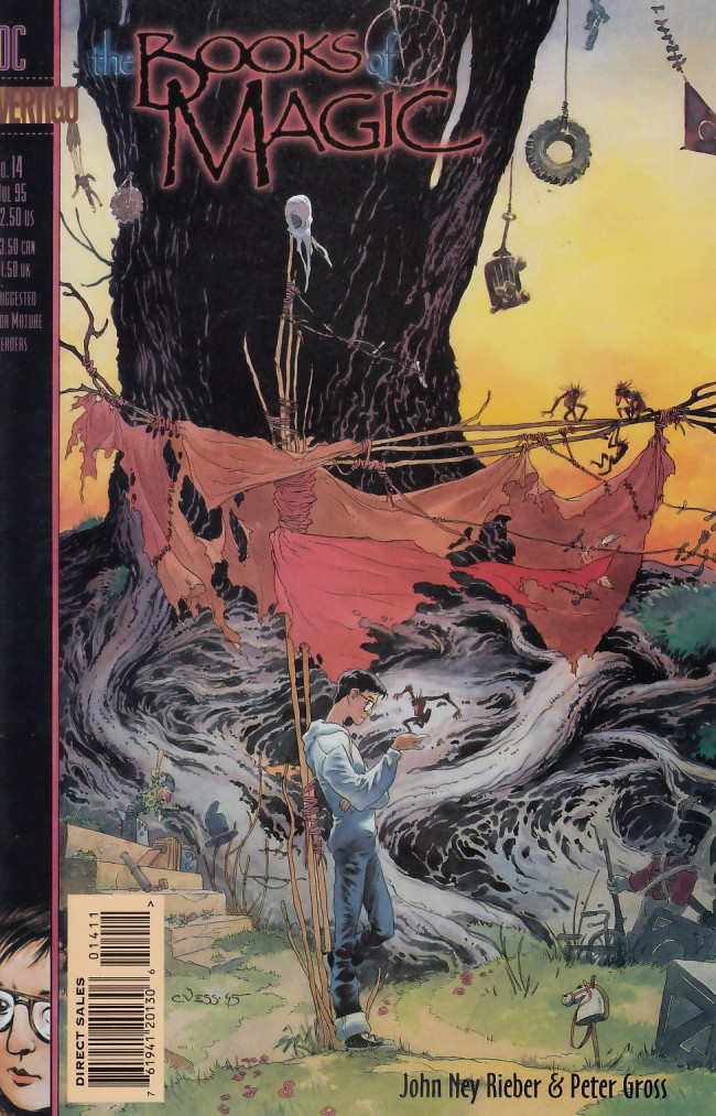 Couverture de Books of Magic (The) (1994) -14- What fire leaves us