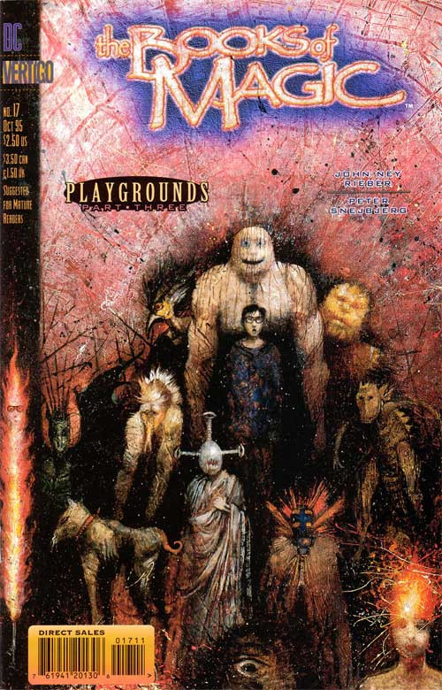 Couverture de Books of Magic (The) (1994) -17- Playground part 3: Deformative years