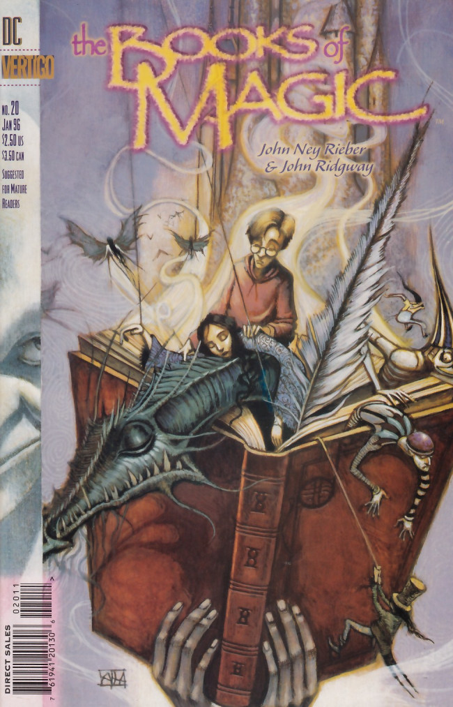 Couverture de Books of Magic (The) (1994) -20- PLayground epilogue: The knight, the dragon and the maiden