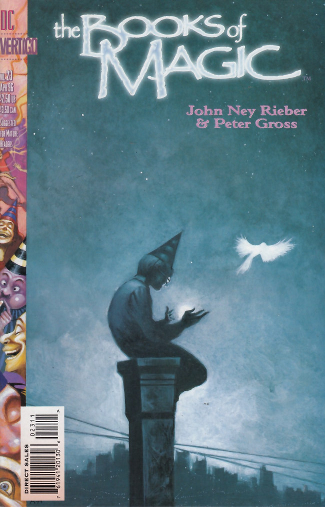 Couverture de Books of Magic (The) (1994) -23- Red rover, red rover.
