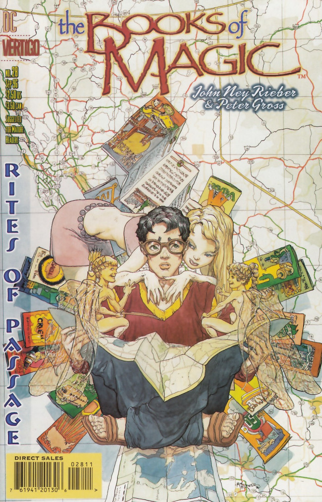 Couverture de Books of Magic (The) (1994) -28- Rites of passage part two: This is not about chocolate
