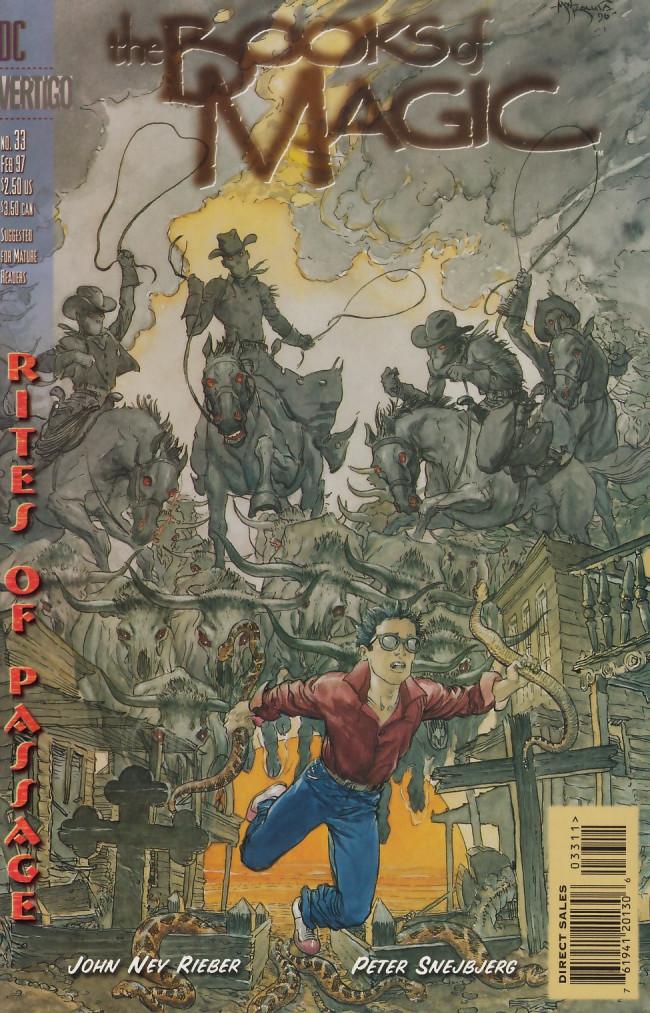 Couverture de Books of Magic (The) (1994) -33- Rites of passage part seven: Purgatory creek