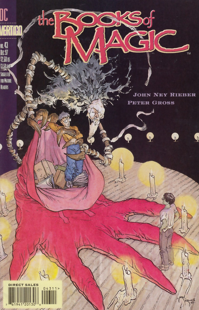 Couverture de Books of Magic (The) (1994) -43- King of this